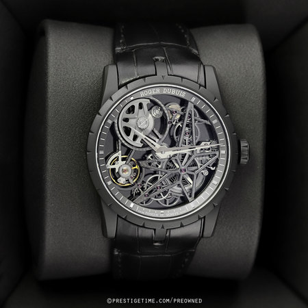 Pre-owned Roger Dubuis Excalibur Automatic Skeleton 42mm RDDBEX0473