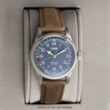 Pre-owned Oris Big Crown Pointer Date 40mm 01 754 7741 4065-07 5 20 63