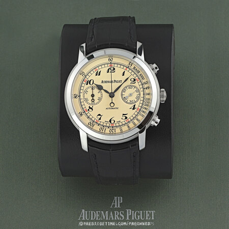 Pre-owned Audemars Piguet Jules Audemars Automatic Chronograph 26100bc.oo.d002cr.01