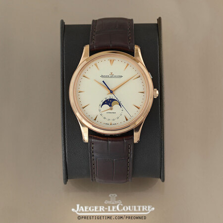 Pre-owned Jaeger LeCoultre Master Ultra Thin Moon 39mm 1362520