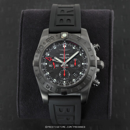 Pre-owned Breitling Chronomat GMT 47mm Limited Edition mb041310/bc78/155s